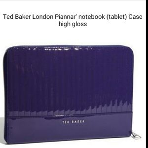 $ FIRM Ted Baker London Piannar notebook tab.Case